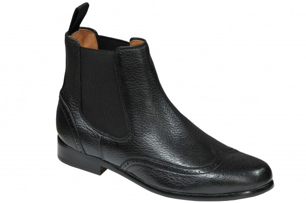 Chelsea Boot in Schwarz Modell Martina